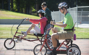 """I haven't rode a bicycle since 2005!"" Leadership program helps physically impaired reach beyond perceived limits."