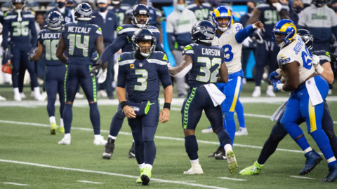 Russell Wilson, did Seahawks' offense adjust well enough late in season to defenses? 'That's a good question'