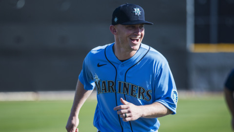 Veteran third baseman Kyle Seager is embracing his role in the Mariners rebuild