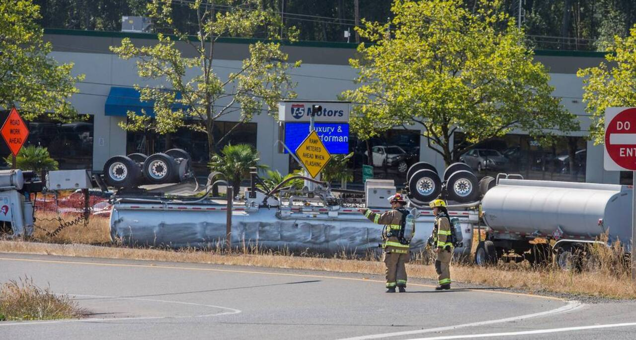 UPDATE: I-5 open in all directions after fuel truck