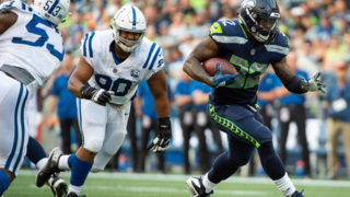 Seahawks' Chris Carson talks about the preseason opener against Indianapolis