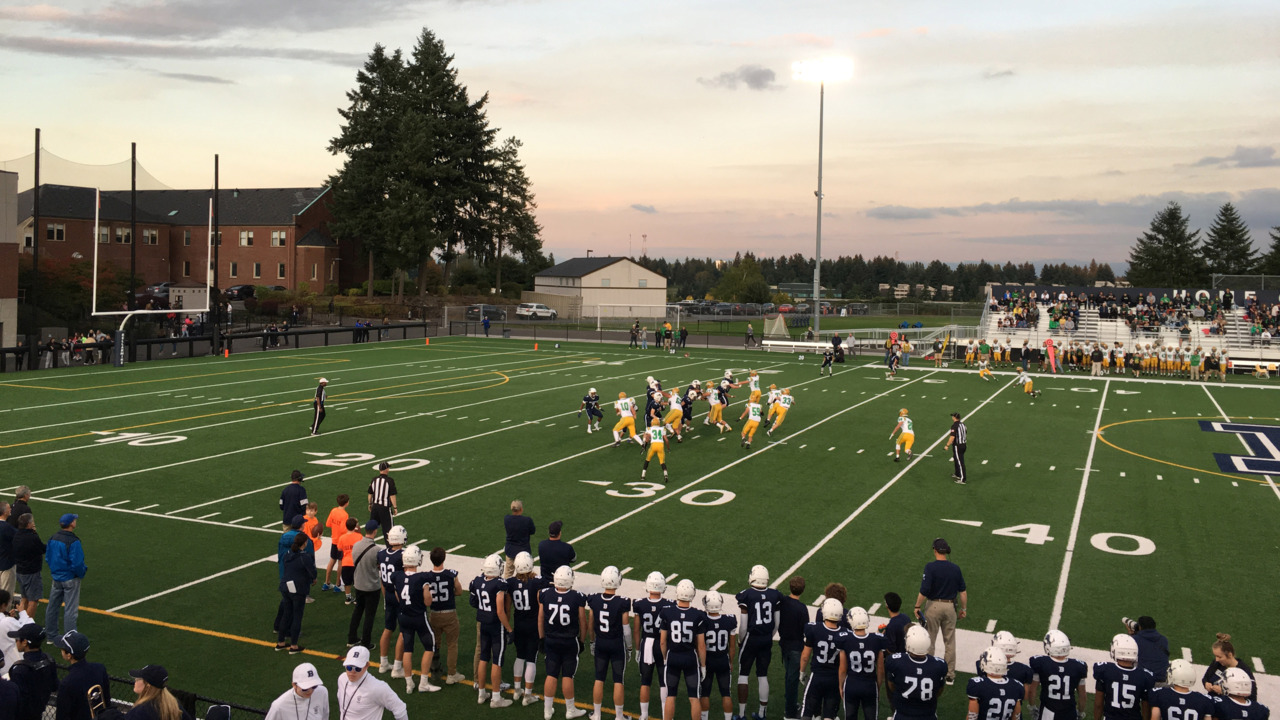 Tumwater takes to the air, holds off Bellarmine Prep's late comeback bid