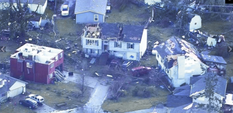 Rare tornado devastates homes near Port Orchard