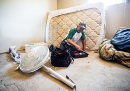 Unable to find housing, Tiki Apartments resident prepares for homelessness