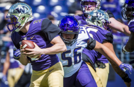 Fans get look at new Huskies in spring preview