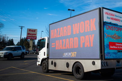 UFCW 367 calls for resuming hazard pay for grocery workers