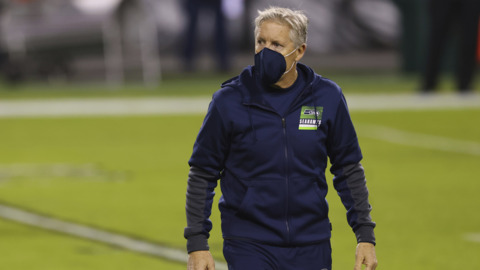 Pete Carroll on Carlos Dunlap's foot, Tre Flowers' new injury, more for Seahawks entering Giants game