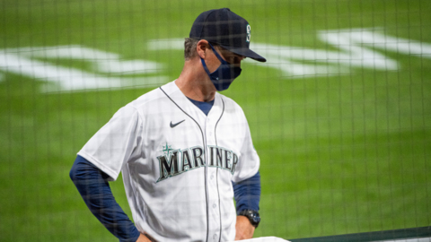 Mariners manger Scott Servais on comments made by Kevin Mather: 'Everyone that's got pride in being a Mariner was hurt'