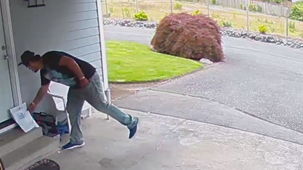 'Life or death' medication stolen from man's South Hill porch. Suspect caught on camera