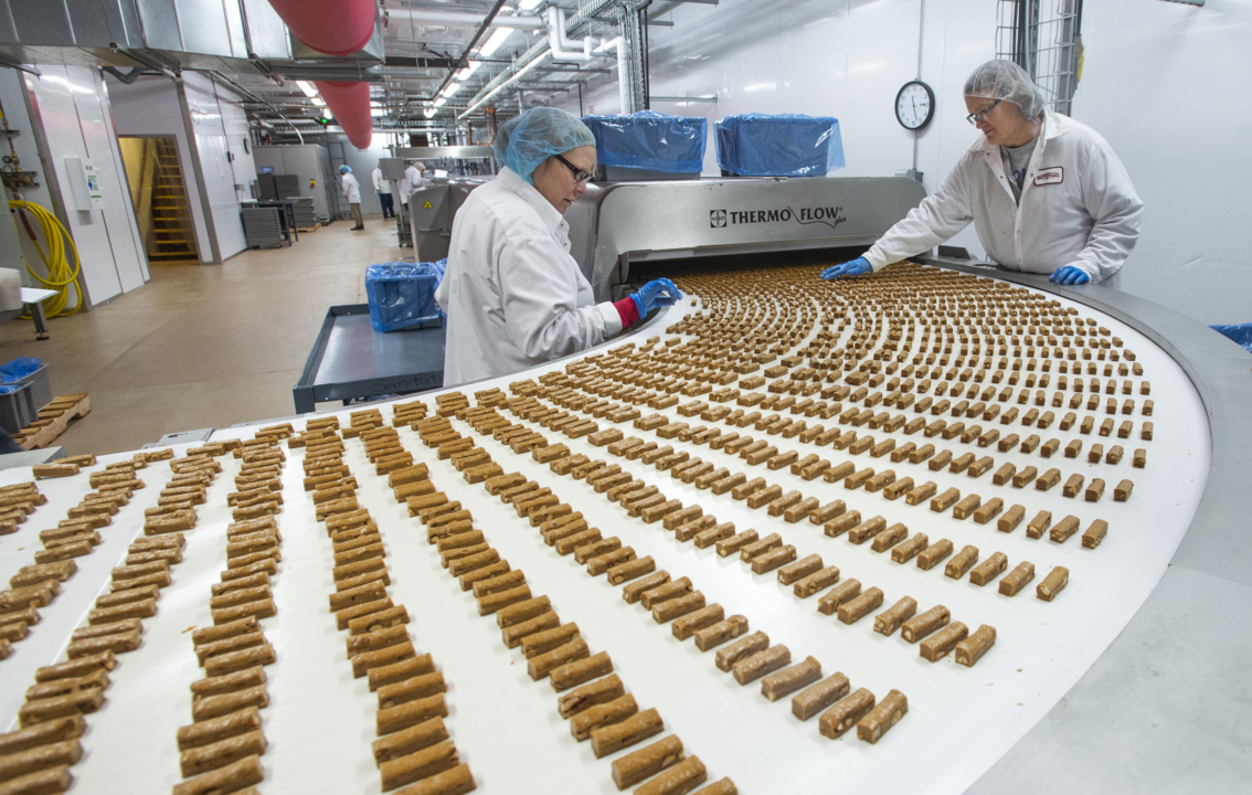 This Almond Roca candy factory leftover will go to hungry bees
