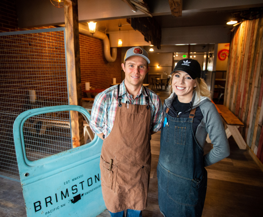 Brimstone Pnw Smokehouse Opens In Former Brix 25 Space In
