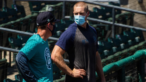 Mariners catcher Tom Murphy a full go this spring after missing 2020 with foot injury