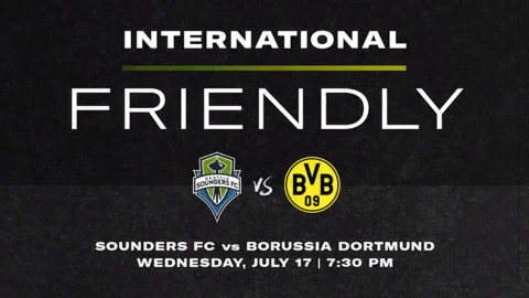 Sounders announce a summer friendly with top German club