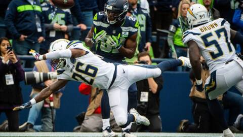 Seahawks lose winning recipe, Russell Wilson's frantic rally denied in 25-17 defeat to Chargers