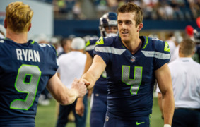 Pete Carroll describes the class with which Jon Ryan has handled Seahawks punting battle