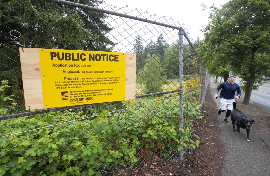 Psychiatric hospital with 105 beds proposed in Tacoma near 19th and Proctor