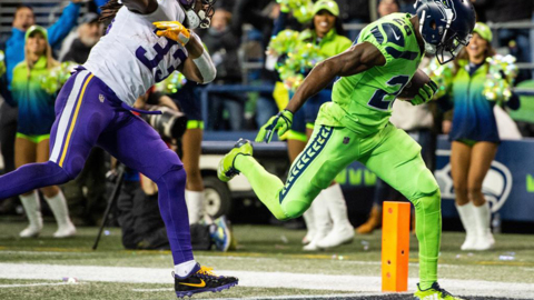 Justin Coleman on his big-play touchdown, effects of Seahawks' new 7-man secondary on Minnesota in win over Vikings
