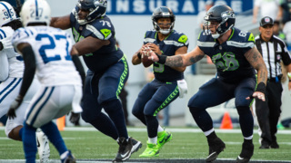 "Russell Wilson raves about Shaquem Griffin, says O-line was ""most exciting thing"" about Seahawks' preseason opener"
