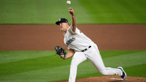 Mariners pitcher Nick Margevicius recaps quality start against Astros