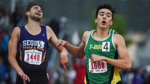 Tumwater sophomore Brian Le's time is now, even after recovering from injury