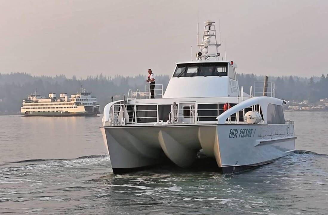Tacoma To Seattle >> Fast Ferry Service From Tacoma To Seattle Might Be Possible Study