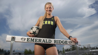 Emerald Ridge's Karlee Stueckle is The News Tribune's 2017-18 senior female athlete of the year