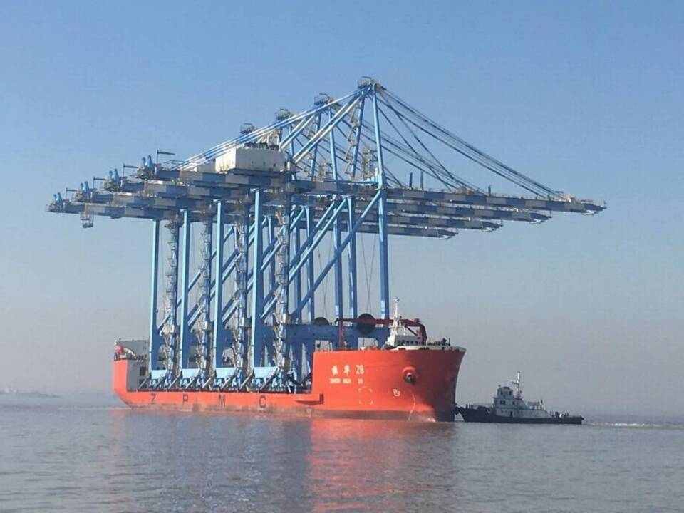 Massive container cranes to arrive in Puget Sound. Here's how to view them