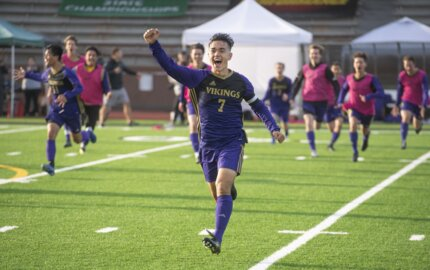 Puyallup midfielder spent his sophomore year in a sling. His comeback was exceptional