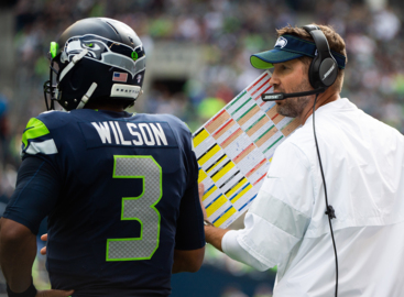 """Russell Wilson on Pete Carroll, Seahawks firing Brian Schottenheimer: """"No. You ask me am I in favor of it? No."""""""