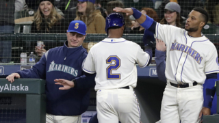 Scott Servais likes power-hitting Dee Gordon, Mitch Haniger hitting stride, Edwin Diaz closing