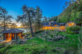 Oprah reportedly bought this gorgeous Orcas Island estate. Take a look around