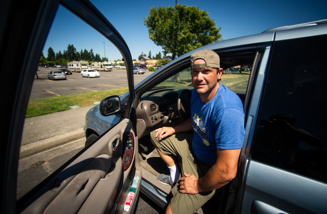Puyallup homeless man sold 'lemon' car receives community support and a donated van