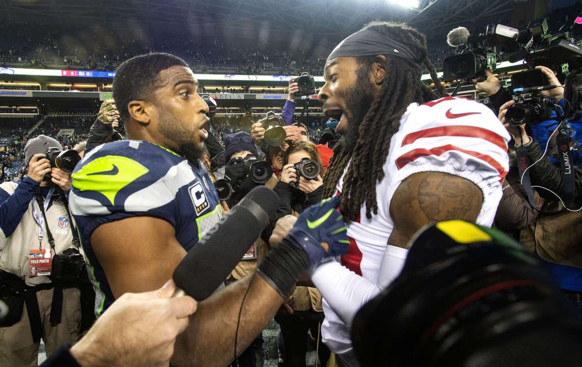 Seahawks-49ers rivalry is back? Veterans of Seattle's epic SF games say nope, not yet