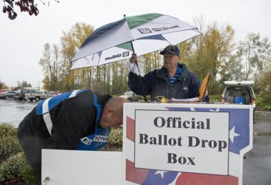 Thursday's updated voting result for Whatcom County and Washington election