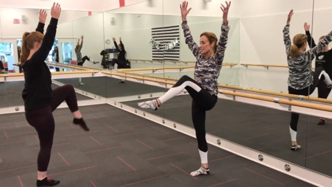 Two new local exercise studios mix hints of ballet with a high-intensity workout