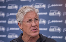 Seahawks coach Pete Carroll on OTAs, Russell Wilson and new OC Brian Schottenheimer