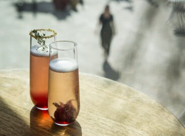 Drink the bubbly, enjoy the whimsy at Blue Octopus Champagne Bar