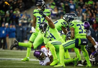 """That leadership """"void"""" after Richard Sherman, pals left? These Seahawks have filled that nicely"""