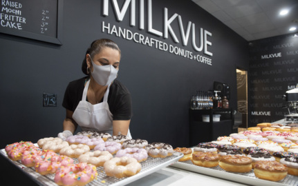 Milkvue Handrafted Donuts offers tasty treats  from classic to creative
