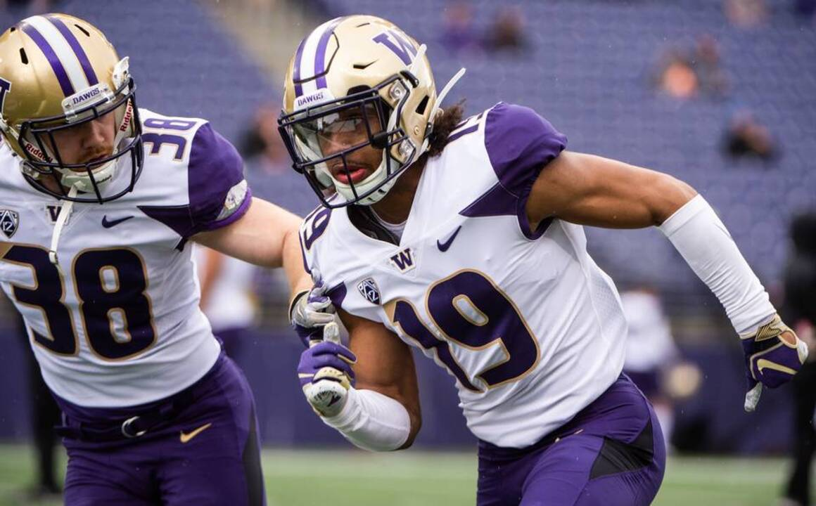 Husky cornerback Kyler Gordon now has technique to match athleticism