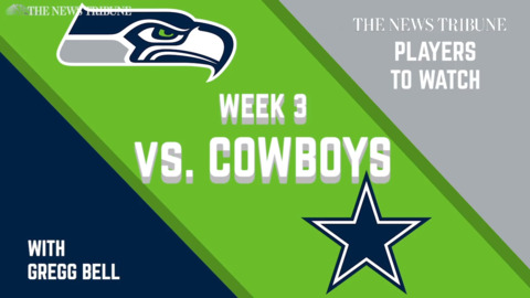 Gregg Bell's Players To Watch: Seahawks vs. Cowboys