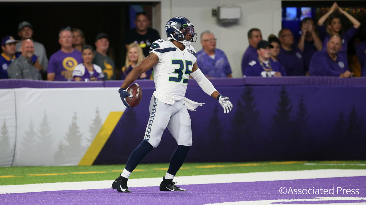 What DeShawn Shead's interception return at Minnesota shows Seahawks