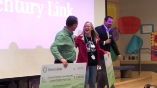 Married teachers surprised with grant