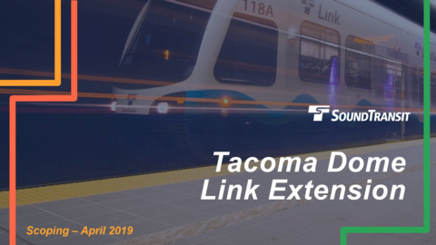 See ya, Tacoma Link. Sound Transit retitles streetcar line with new colorful name