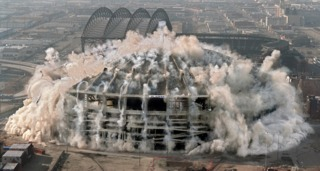 Where were you when the Kingdome blew?