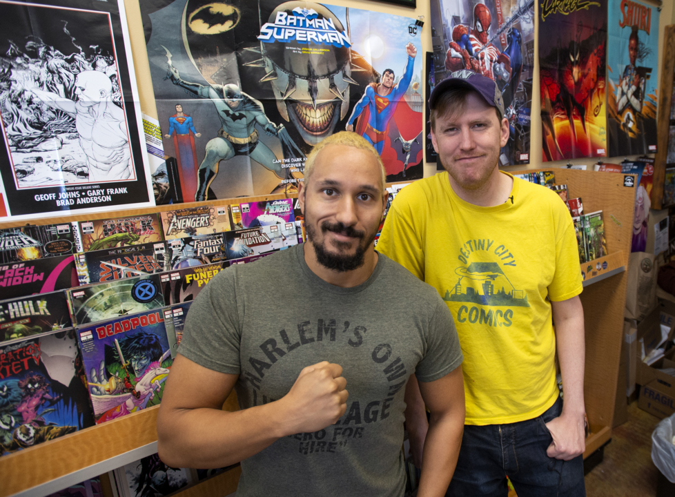 A popular Tacoma comics shop is on the ropes. Can a professional wrestler save it?