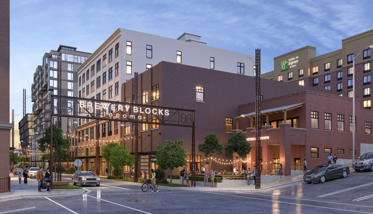 Pizza, beer, barbecue, burgers will join cidery at Tacoma's Brewery Blocks