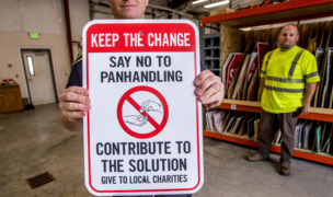 Lakewood to discourage giving to panhandlers from the roadway