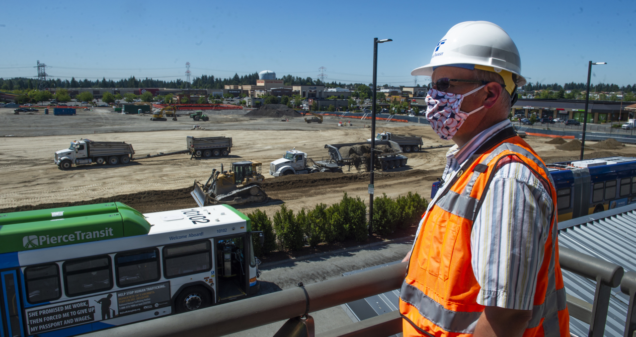 The earth is moving for $3.1 billion light rail extension from SeaTac to Federal Way