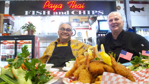 Paya Thai: Don't let the name fool you, it's classic Fish & Chips.